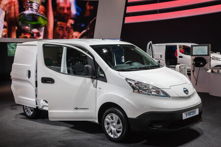iaa: NISSAN e-NV200 Electric Chassis at the 65th IAA Commercial Vehicles Fair 2014 in Hannover Editorial