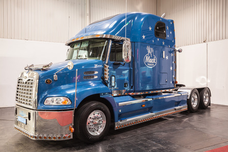 Mack Vision 460 truck at the 65th IAA Commercial Vehicles Fair 2014 in Hannover, Germany