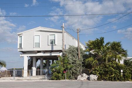 stilts: House on stilts, Key Largo Florida