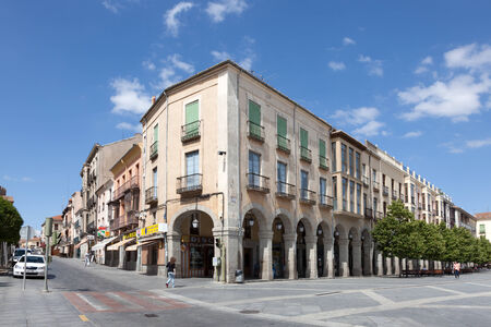 Plaza de Santa Teresa in Avila, Castile and Leon, Spain