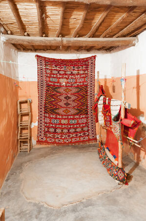 artisanry: Traditional Berber carpets in Morocco, Africa