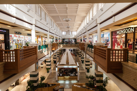 souq: KUWAIT - DEC 7: Interior of the Souq Sharq shopping mall in Kuwait. December 7, 2014 in Kuwait City, Middle East