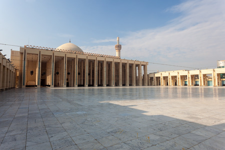 quran: Exterior of the Grand Mosque in Kuwait City, Middle East
