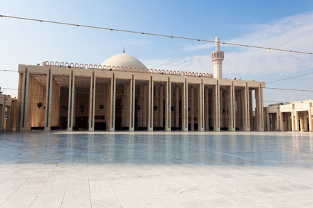 kuwait: Exterior of the Grand Mosque in Kuwait City, Middle East