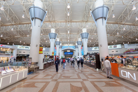 gcc: Kuwait City Airport Check In Zone Departures Hall. December 12, 2014 in Kuwait, Middle East