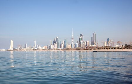 gcc: Skyline of Kuwait City, Middle East