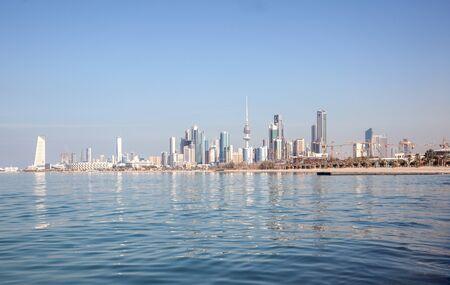 gcc: Skyline of Kuwait City, Middle East