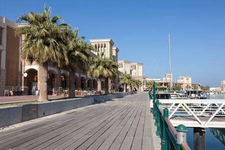 souq: Souq Sharq promenade in Kuwait City, Middle East