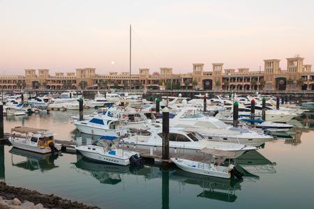 souq: KUWAIT - DEC 7: Souq Sharq Marina in Kuwait. December 7, 2014 in Kuwait City, Middle East
