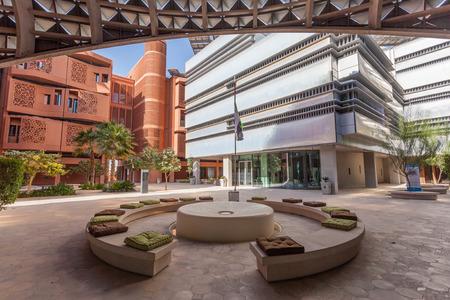 ABU DHABI - DEC 23: View of the Masdar Institute of Science and Technology, Abu Dhabi. December 23, 2014 in Abu Dhabi, United Arab Emirates