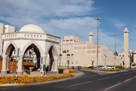 united arab emirate: AL AIN, UAE - DEC 15: Sheikha Salama Bint Betty Mosque in Al Ain, Emirate of Abu Dhabi. December 15, 2014 in Al Ain, United Arab Emirates