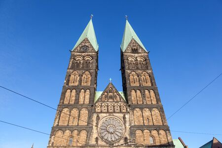 dom: The Bremer Dom Cathedral in the city of Bremen, Germany