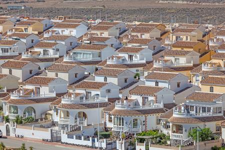 spanish homes: Vacation homes in the urbanisation Camposol, Region Murcia, Spain