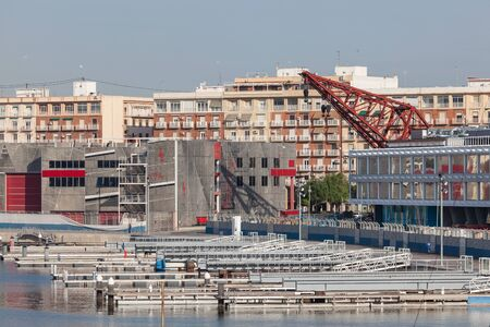 america's cup america: VALENCIA, SPAIN - MAY 24: Americas Cup port of Valencia. May 24, 2015 in Valencia, Spain Editorial