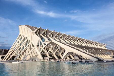 sciences: VALENCIA, SPAIN - MAY 24: Prince Philip Science Museum in the City of Arts and Sciences in Valencia. May 24, 2015 in Valencia, Spain