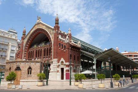 colon: Historic Colon Market in the city of Valencia, Spain