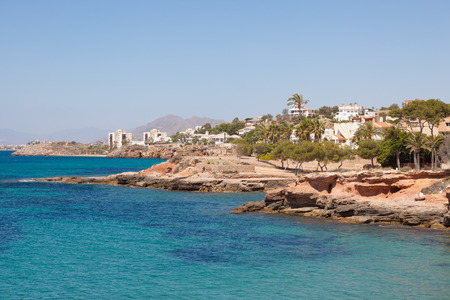 isla: Mediterranean coast in Isla Plana, province of Murcia, Spain