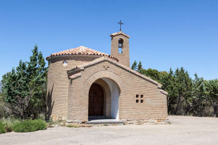 chapel: Small chapel in the province Aragon, Spain