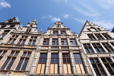 gabled: Historic building at the Grote Markt (Great Market Square) in Antwerp, Belgium
