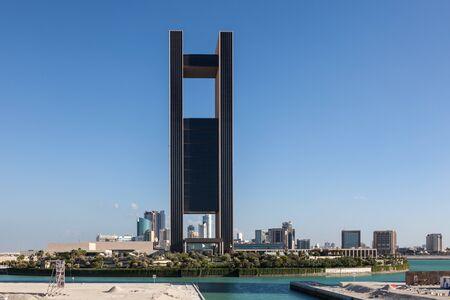 accomodation: MANAMA, BAHRAIN - NOV 14: The new Four Seasons Hotel in the city of Manama. November 14, 2015 in Manama, Kingdom of Bahrain