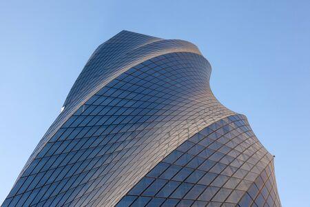 bahrain: MANAMA, BAHRAIN - NOV 14: New United Tower in the Bahrain Bay, Manama City. November 14, 2015 in Manama, Kingdom of Bahrain Editorial