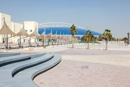 aspire: DOHA, QATAR - NOV 22: The Aspire Zone sports center in Doha. November 22, 2015 in Doha, Qatar, Middle East Editorial