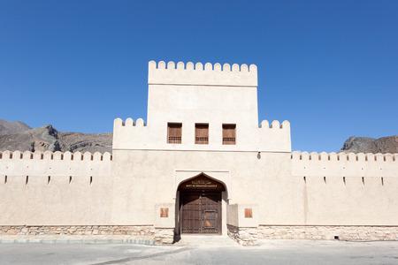 ar: Bayt Ar Ridaydah Castle near Nizwa. Sultanate of Oman, Middle East