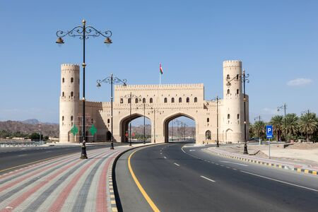 east gate: Gate to tze city of Nizwa. Sultanate of Oman, Middle East