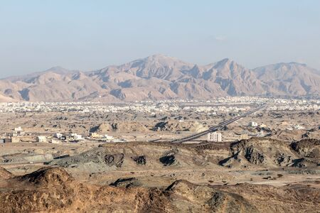muscat: View over the city of Muscat, Sultanate of Oman, Middle East