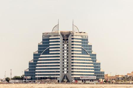 elite: MANAMA, BAHRAIN - NOV 17: Luxury Elite Resort and Spa hotel in Manama. November 17, 2015 in Manama, Kingdom of Bahrain, Middle East