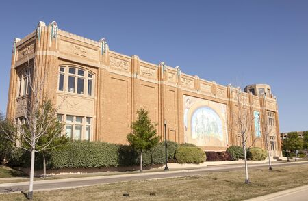 fort worth: FORT WORTH, TX, USA - APR 6: National Cowgirl Museum and Hall of Fame in Fort Worth. April 6, 2016 in Fort Worth, Texas, USA Editorial