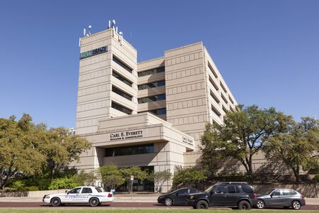 master degree: FORT WORTH, USA - APR 6: The University of North Texas Health Science Center in the city of Fort Worth. April 6, 2016 in Fort Worth, Texas, USA Editorial