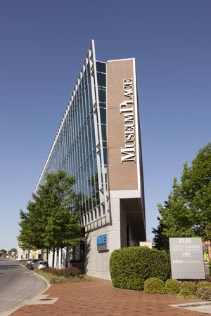 fort worth: FORT WORTH, USA - APR 6: Museum Place Office Building in the city of Fort Worth. April 6, 2016 in Fort Worth, Texas, USA