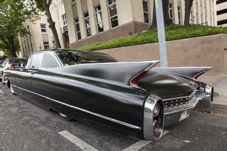 Austin Usa Apr 10 Black 1960 Cadillac Eldorado Seville Coupe
