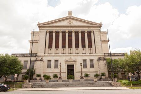 rite: SAN ANTONIO, USA - APR 11: San Antonio Scottish Rite Library and Museum building. April 11, 2016 in San Antonio, Texas, United States