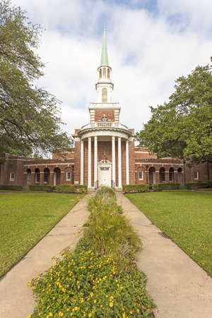 christian community: The Fourth Church of Christ Scientist in the city of Houston. Texas, United States