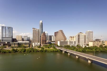 Austin city downtown skyline. Texas, United States