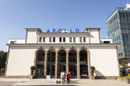 rhine westphalia: SIEGEN, GERMANY - SEP 8, 2016: The Apollo theater in the city of Siegen. North Rhine Westphalia, Germany Editorial