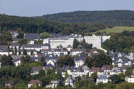 rhine westphalia: District Wellersberg in the city of Siegen. North Rhine Westphalia, Germany