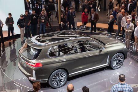 Frankfurt Germany Sep 20 2017 Bmw X7 Iperformance Concept
