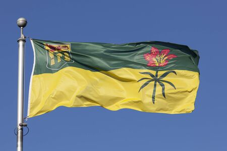 National flag of the province of Saskatchewan, Canada