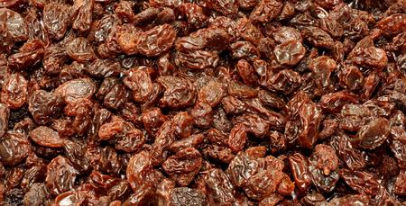 californian: Healthy wrinkled sun dried Californian grape background