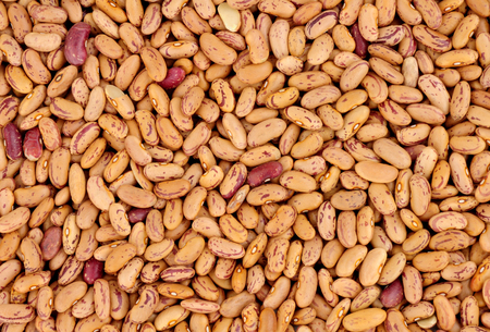 Rosecoco bean background also known as Roman beans