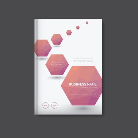 representative: book cover polygon in background, representative leaflet