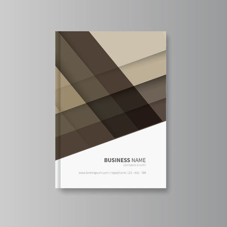 book cover design with abtract background first page