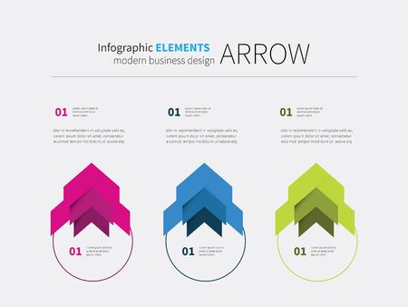 arrows circle: vector arrow options elements design, circular, upward, motivation