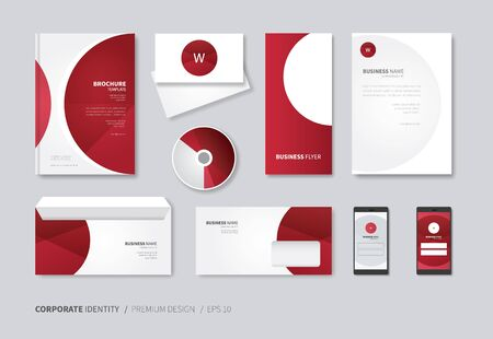 a5: vector corporate identity for full company use