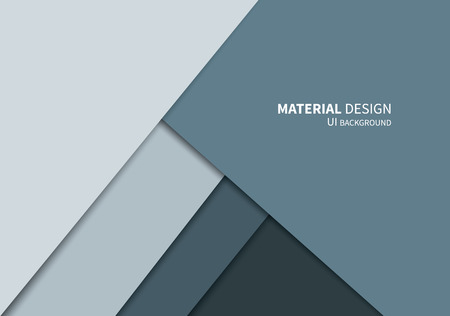 vector geometric overlaps shapes template in new design system