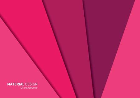 stylesheet: vector geometric overlaps shapes template in new design system