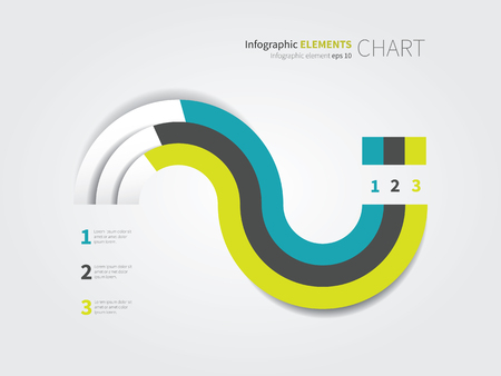 Flat Vector Pie Chart For Infographic Design Royalty Free Cliparts